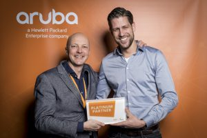 Wentzo is platinum partner van Aruba Networks